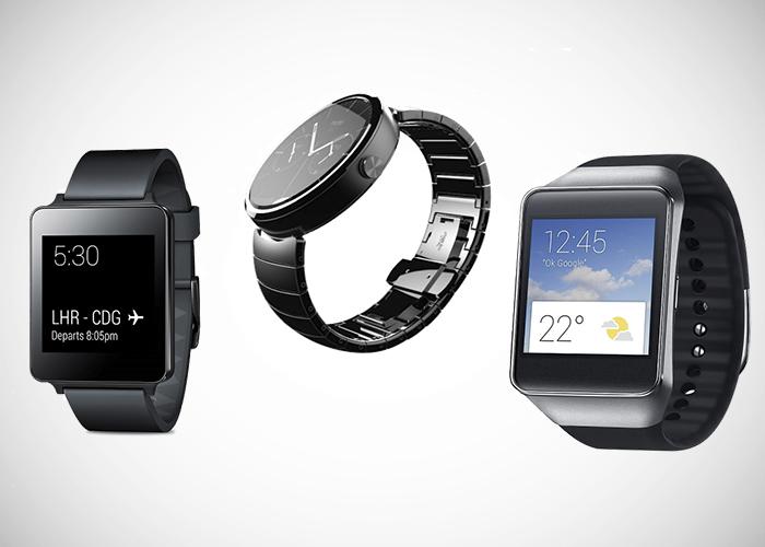 LG G Watch vs Motorola-Moto-360 vs Samsung Gear Live