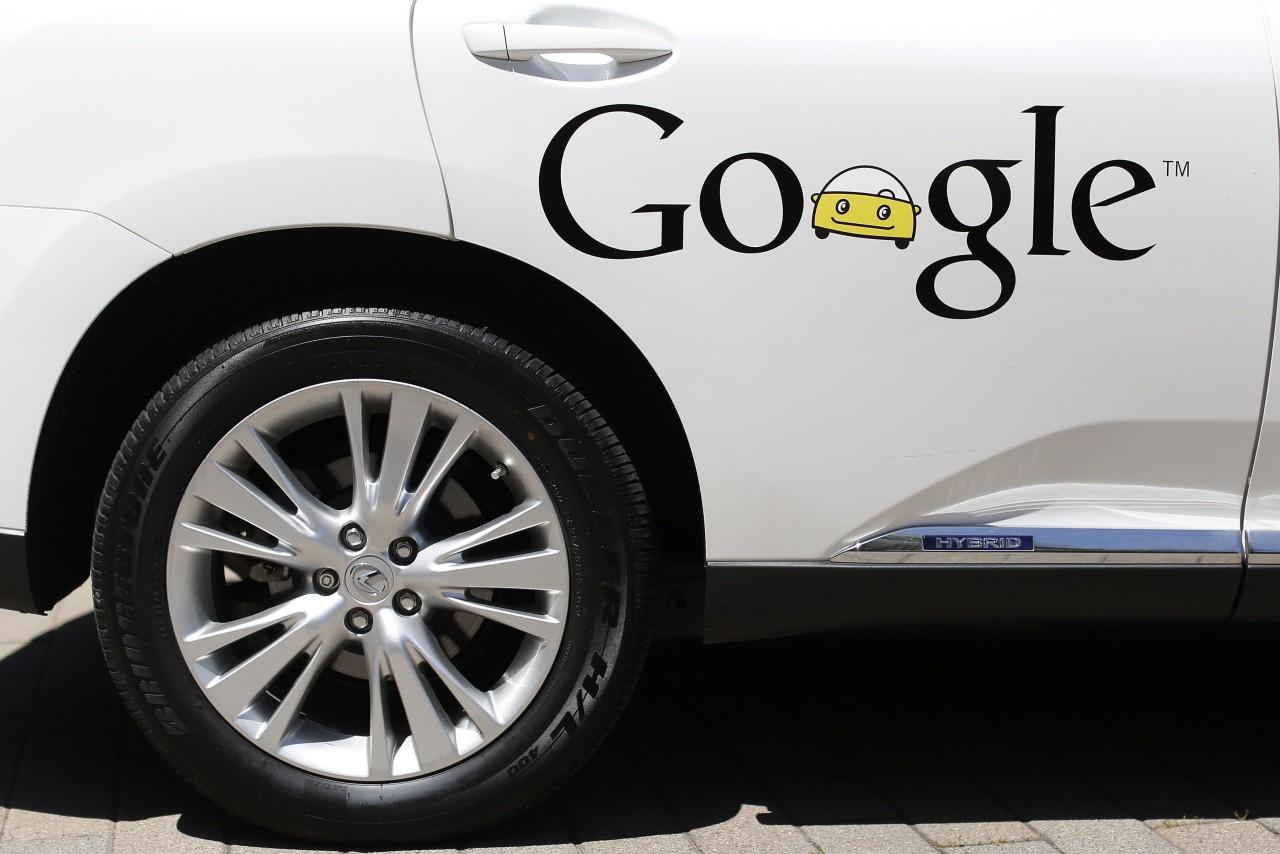 Google-voiture