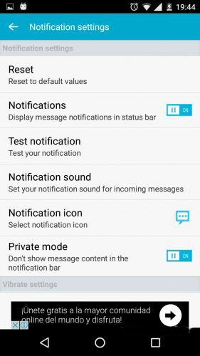 cacher-sms-android